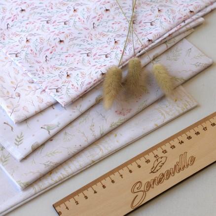 Наборы тканей для кукол и скрапбукинга