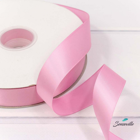 Лента атласная 2,5 см. Цвет розово-фиолетовый. LA-148