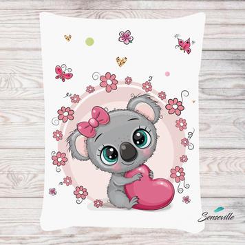 Коала для девочек. Панель для одеяла/пледа (78х104см). RUPN-0077